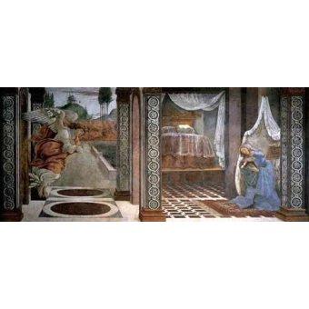 Tableaux religieuses - Tableau -Annonciation- - Botticelli, Alessandro