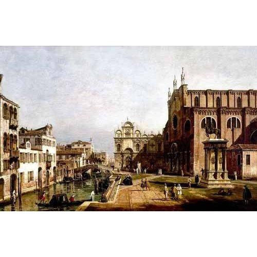 Tableau -Vista de Venecia, Iglesia de Santi Giovani-