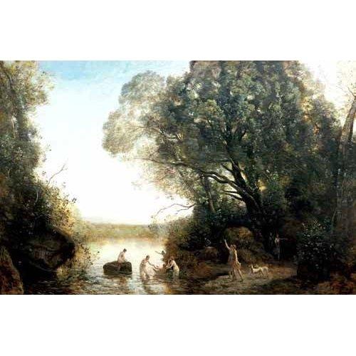 pinturas de paisagens - Quadro -Pastoril-
