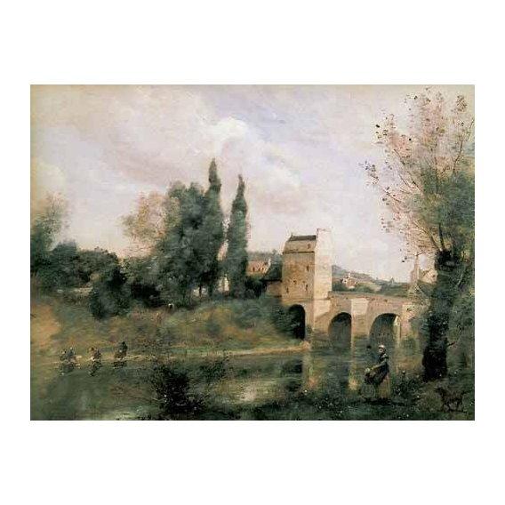 pinturas de paisagens - Quadro -El baño de Diana-