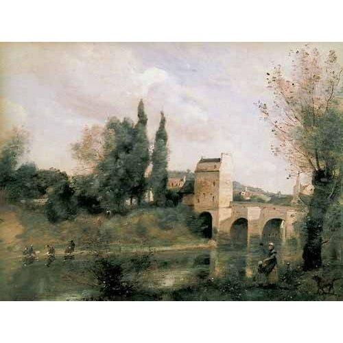 Tableau -El puente de Mantes-