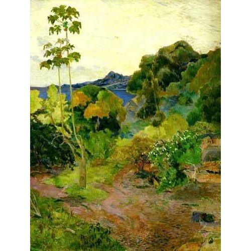 pinturas de paisagens - Quadro -Les Alyscamps, 1888-