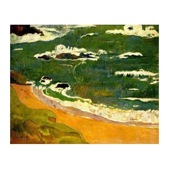 pinturas de paisagens marinhas - Quadro -Paisaje de la Martinica-