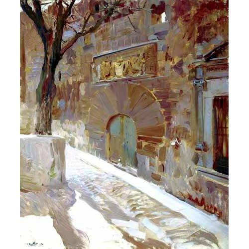 Tableau -Rue Avila -