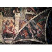 Tableau -Bóveda: El Castigo de Amán, el Profeta Jeremias-
