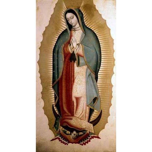 Tableau -La Virgen de Guadalupe-