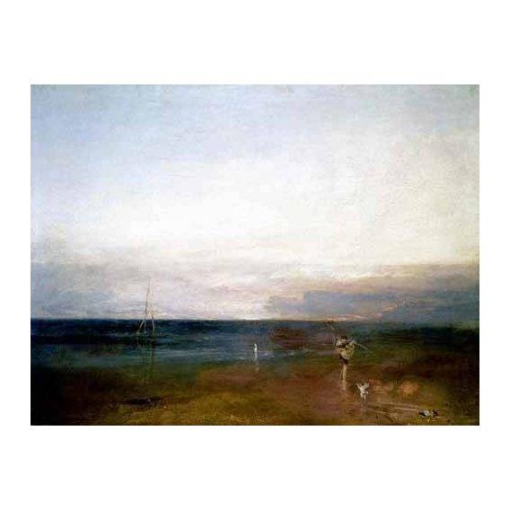 pinturas de paisagens - Quadro -La estrella vespertina-