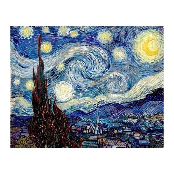 pinturas de paisagens - Quadro -La noche estrellada-