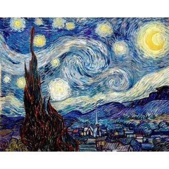 - Tableau - La nuit étoilée, 1888 - - Van Gogh, Vincent