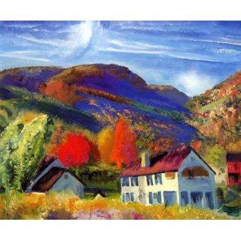 - Tableau -Mi casa, Woodstock- - Bellows, George
