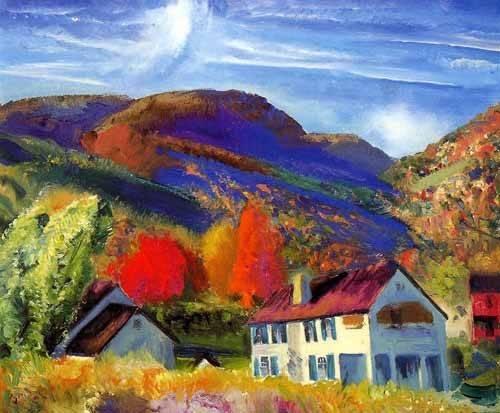 tableaux-de-paysages - Tableau -Mi casa, Woodstock- - Bellows, George