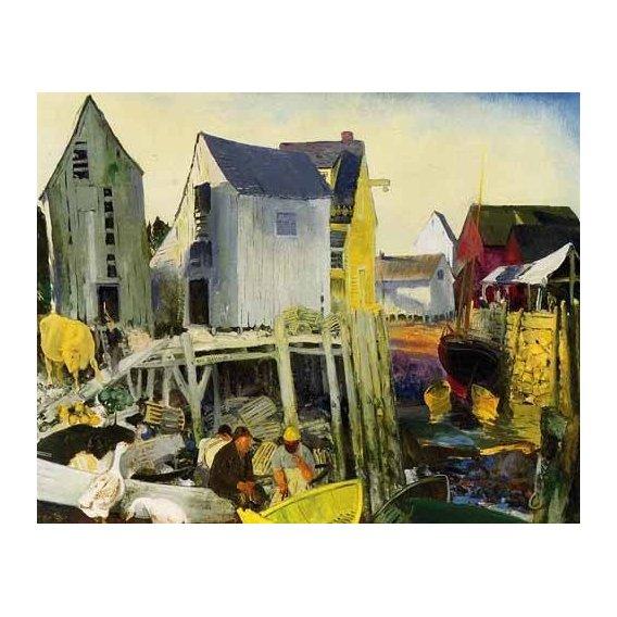 pinturas de paisagens - Quadro -Matinicus-