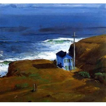 Tableaux de paysages marins - Tableau -Shore House- - Bellows, George