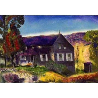 - Tableau -Black House- - Bellows, George