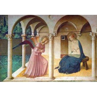 Tableaux religieuses - Tableau -Annonciation- - Fra Angelico, G. Da Fisole