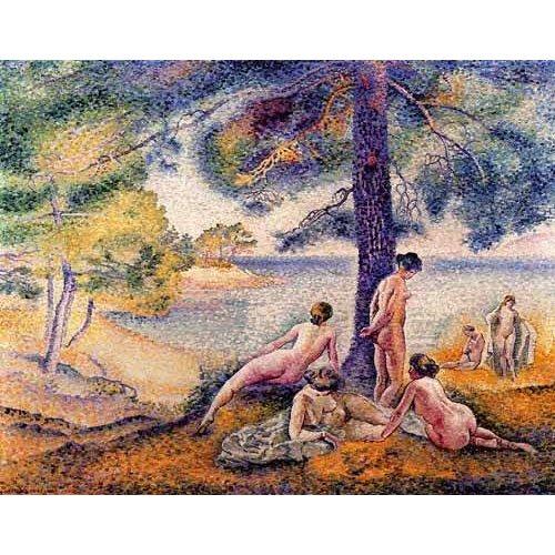 pinturas de paisagens - Quadro -Un sitio en la sombra-