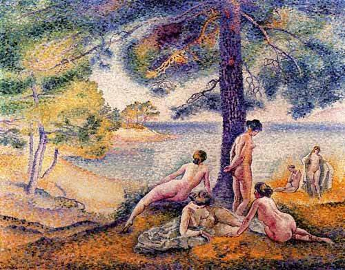 tableaux-de-paysages - Tableau -Un sitio en la sombra- - Cross, Henri Edmond