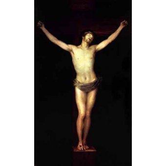 Tableaux religieuses - Tableau -Cristo crucificado- - Goya y Lucientes, Francisco de