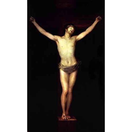 imagens religiosas - Quadro -Cristo crucificado-