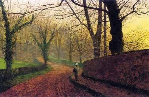 tableaux-de-paysages - Tableau -Stapleton Park near Pontefract- - Grimshaw, John Atkinson