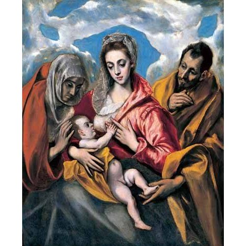 Tableau -La Sagrada Familia con Santa Ana (1595)-