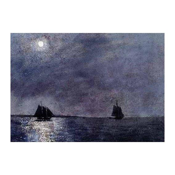 pinturas de paisagens marinhas - Quadro -Eastern Point Light-