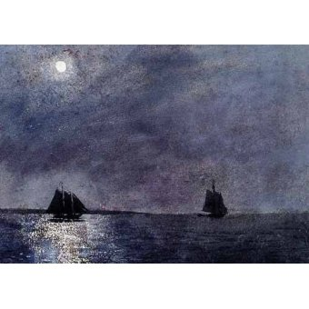 Tableaux de paysages marins - Tableau -Eastern Point Light- - Homer, Winslow