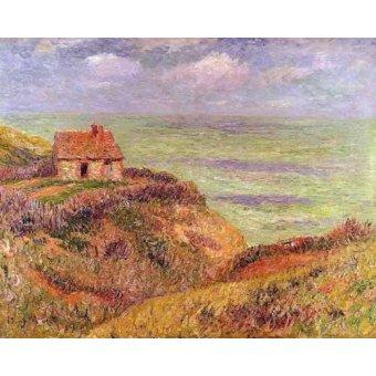 Tableaux de paysages marins - Tableau -Acantilados de Moelian, Finistere- - Moret, Henri