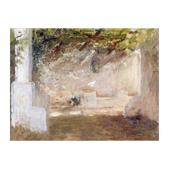 pinturas de paisagens - Quadro -Emparrado-