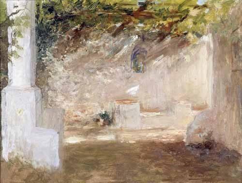 tableaux-de-paysages - Tableau -Emparrado- - Pinazo y Camarlench, Ignacio