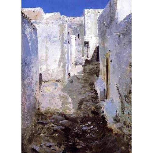 Tableau -Calle de Algiers-