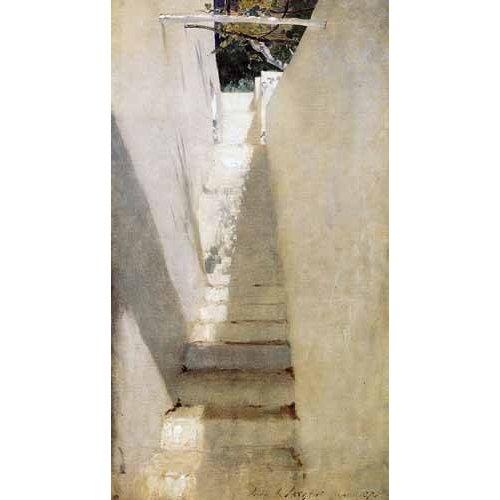 Tableau -Escalinata en Capri-