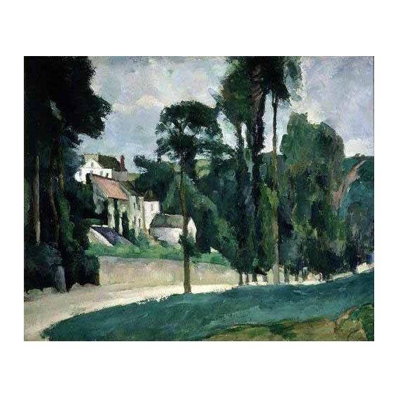 pinturas de paisagens - Quadro -La carretera en Pontoise-