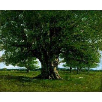 Tableau -La chêne de Flagey, appelé Vercingétorix-