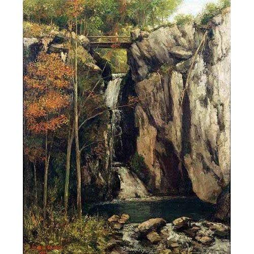 Tableau - Le Gour de Conche, 1864 -