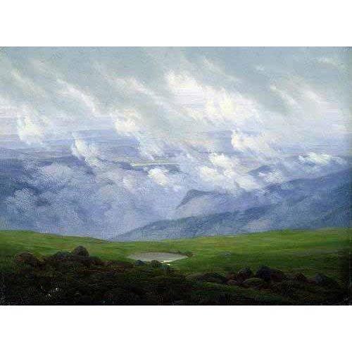 Tableau -Nubes a la deriva-