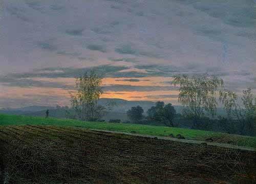 tableaux-de-paysages - Tableau -Campos arados- - Friedrich, Caspar David