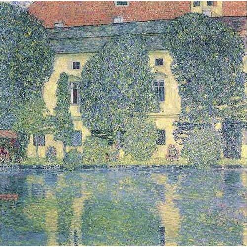 Tableau -Le Kammer Sholoss sur l'Attersee-