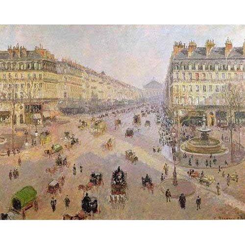 Tableau -Avenue de L'Opera, Paris, 1898, París-