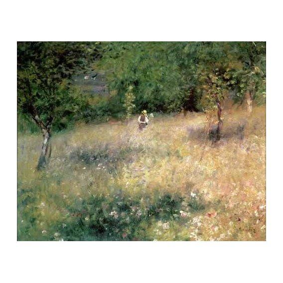 pinturas de paisagens - Quadro -Primavera en Chatou-
