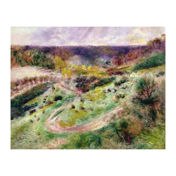 pinturas de paisagens - Quadro -Paisaje en Wargemont-