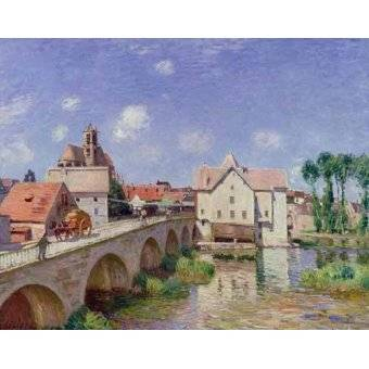 Tableau -El puente de Moret-