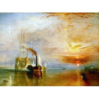 Tableau -Le Dernier Voyage du Téméraire-