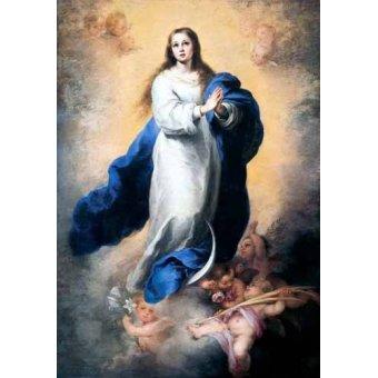 - Tableau -Inmaculada Concepción del Escorial- - Murillo, Bartolome Esteban